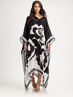 Emilio Pucci - Printed Silk Caftan