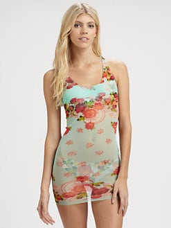 Jean Paul Gaultier - Two-Piece Floral Tankini