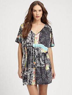Etro - Jersey Bandana Tunic