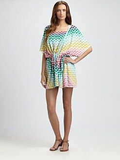 Missoni - Multi-Dot Caftan