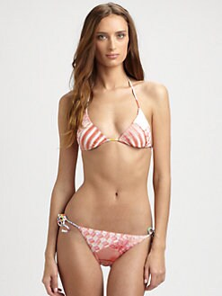 Missoni - Two-Piece Patchwork Bikini