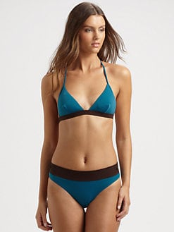 Chloe - Two-Piece Colorblock Bikini