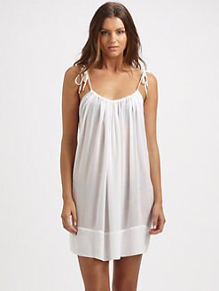 Chloe - Scoop-Back Jersey Tunic