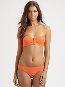 Chloe - Two-Piece Zipper-Detail Bikini