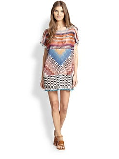 Missoni Mare - Patchwork T-Shirt Coverup