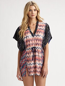 Missoni - Drawstring-Waist Caftan