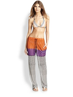 Missoni - Colorblocked Pants <br>
