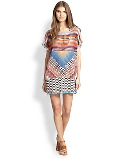 Missoni - Patchwork T-Shirt Coverup <br>