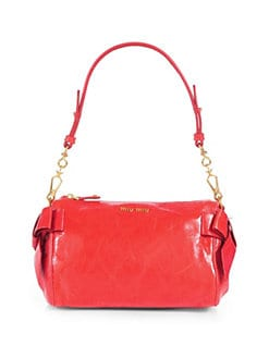 Miu Miu - Vitello Small Bow Shoulder Bag