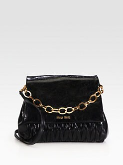 Miu Miu - Matelasse Lux Chain Shoulder Bag