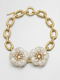 Miu Miu - Flower Chain Link Necklace