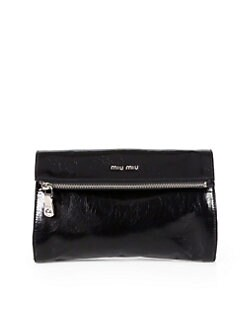 Miu Miu - Vitello Foldover Clutch