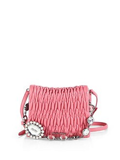 Miu Miu - Embellished Square Shoulder Bag