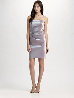 Theia - Strapless Cocktail Dress