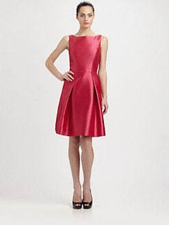 Theia - Silk Satin Dress