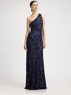 Theia - Beaded Gown