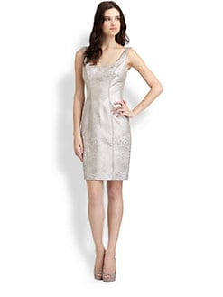 Theia - Brocade Dress