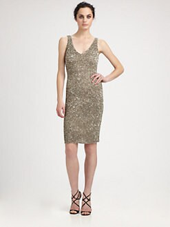 Theia - Marina Beaded Dress
