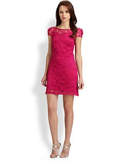 Theia - Lace Dress