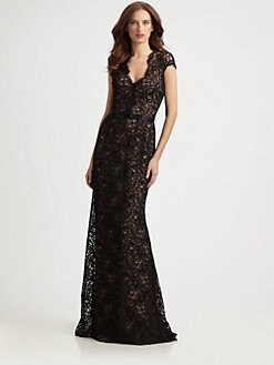 Theia - Lace Gown
