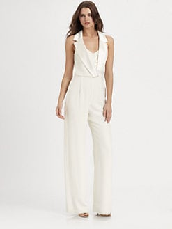 Theia - Silk Jumpsuit