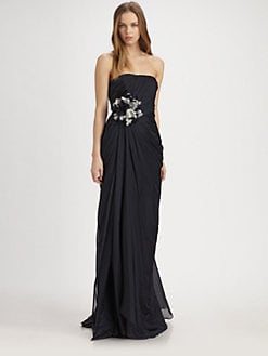Theia - Silk Flower Gown