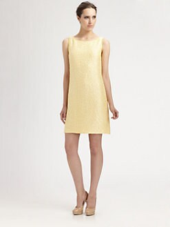 Theia - Textured Dress