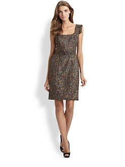 Theia - Tweed Dress