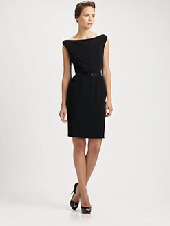 Theia - Crepe Cocktail Dress