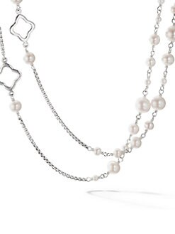 David Yurman - Freshwater Pearl & Sterling Silver Necklace
