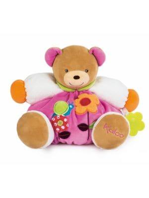 "12"" Chubby Bear & Teething Ring"