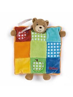 Kaloo - DouDou Puppet Bear Patchwork Blanket
