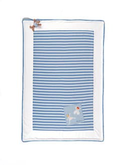 Kaloo - Sailor Striped Crib Cover