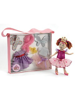 Madame Alexander - Fancy Nancy Dress-Up Tote & Cloth Doll Set