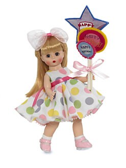 Madame Alexander - Balloons For Your Birthday Blonde Collectible Doll
