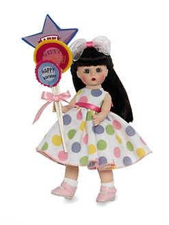 Madame Alexander - Balloons For Your Birthday Brunette Collectible Doll