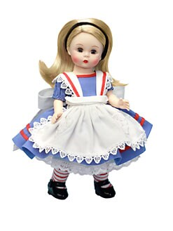 Madame Alexander - Alice In Wonderland Turnkey Doll