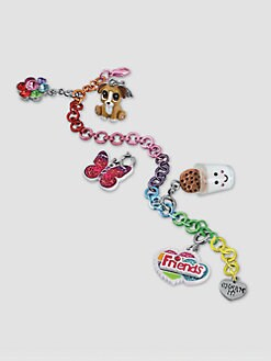 CHARM IT! - Girl's Six-Piece Friendship Bracelet & Charms Set
