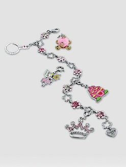 CHARM IT! - Girl's Six-Piece Princess Bracelet & Charms Gift Set