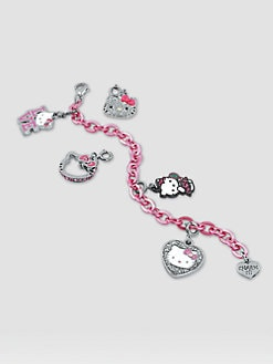 CHARM IT! - Girl's Six-Piece Hello Kitty&#174; Bracelet & Charms Gift Set