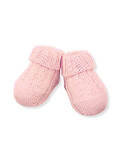Ralph Lauren - Infant's Cable-Knit Booties