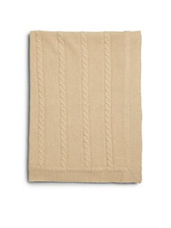 Portolano Kids - Infant's Cashmere Cable-Knit Blanket