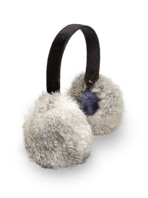 Rabbit Fur Earmuffs