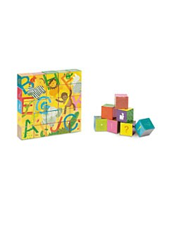Janod - ABC Alphabet Blocks Set