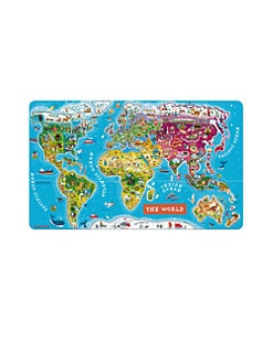 Janod - World Wooden Magnetic Puzzle