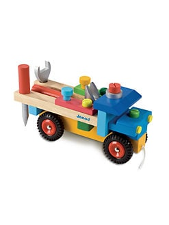 Janod - Do-It-Yourself Wooden Truck Set