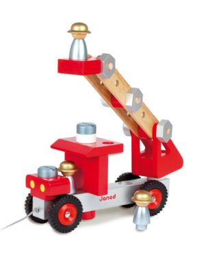 Build-It-Yourself Fire Truck