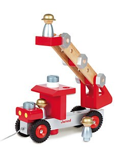 Janod - Build-It-Yourself Fire Truck
