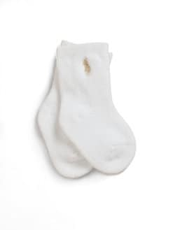 Ralph Lauren - Infant's (0-6mo) Cotton Crew Socks/3 Pairs
