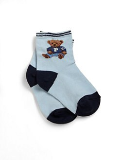 Ralph Lauren - Infant's Teddy Bear Crew Socks